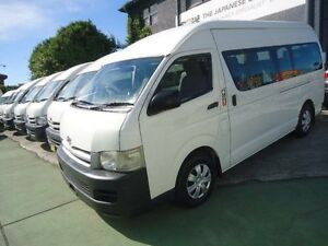 2007 Toyota Hiace KDH223R MY07 Upgrade Commuter White 4 Speed Automatic Bus Canada Bay Canada Bay Area Preview