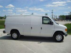 2007 Ford E-250 Cargo Van CARGO SHELFS DIVIDER WELL MAINTAINED