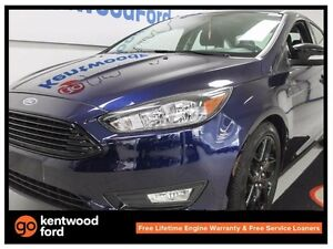 2016 Ford Focus SE- Feel like roaylty in this royal blue Focus