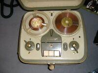 Vintage Classic Grundig TK5 Reel To Reel Tape Recorder Machine