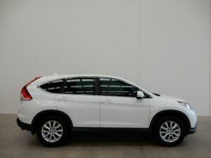 2012 Honda CR-V RM VTi White 6 Speed Manual Wagon