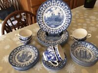 Silver 1977 Jubilee China Set- £22.50