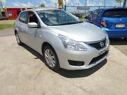 2016 Nissan Pulsar C12 Series 2 ST Silver Continuous Variable Hatchback Brendale Pine Rivers Area Preview