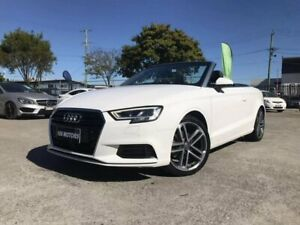 2016 Audi A3 8V MY16 1.4 TFSI Attraction CoD White 7 Speed Auto Direct Shift Cabriolet Coopers Plains Brisbane South West Preview
