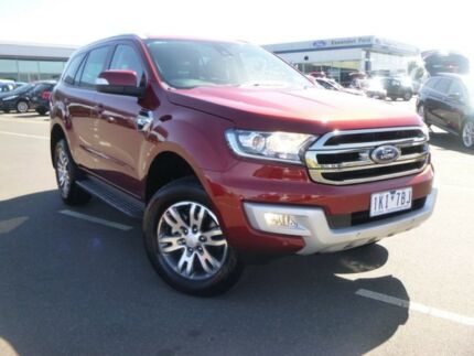 2017 Ford Everest UA Trend RWD Sunset 6 Speed Sports Automatic Wagon
