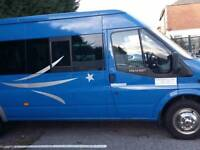 17 seater minibus Ford Transit for sale (No VAT)