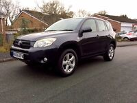 2006 (06) Toyota RAV4 XT4 2.2 Diesel with in Grey with Full Leather and 12 Months MOT