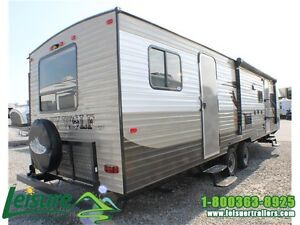 2016 Forest River Cherokee Grey Wolf 29DSFB Travel Trailer Windsor Region Ontario image 3