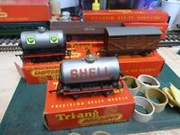TRIANG/HORNBY X4 WAGONS