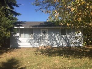 CHAUVIN, AB  HOUSE FOR RENT OR SALE