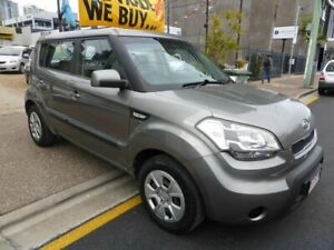 2011 Kia Soul AM MY11 + Grey 5 Speed Manual Hatchback Southport Gold Coast City Preview