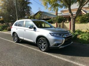2017 Mitsubishi Outlander ZK MY17 LS 2WD Silver 6 Speed Constant Variable Wagon Hawthorn Mitcham Area Preview