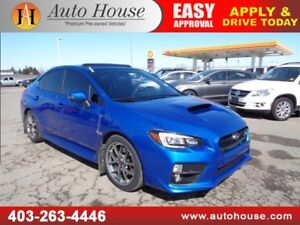 2015 SUBARU IMPREZA WRX STI SPORT-TECH NAVI LEATHER ROOF B CAM