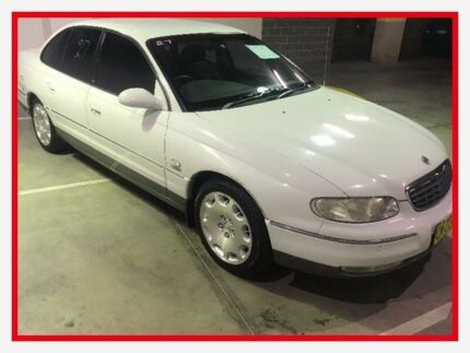 1999 Holden Statesman WH V8 White 4 Speed Automatic Sedan Campbelltown Campbelltown Area Preview