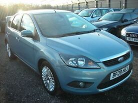FORD FOCUS 1.6 TITANIUM TDCI 5d 108 BHP FSH - Economical dies (blue) 2009