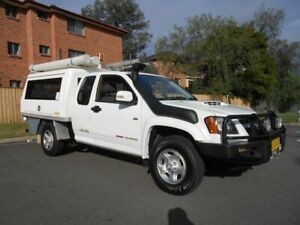 2010 Holden Colorado RC MY10 LX (4x4) White 5 Speed Manual Space Cab Chassis Bankstown Bankstown Area Preview