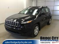 2015 Jeep Cherokee 4WD 4dr Sport - v6 bluetooth 9 speed automati