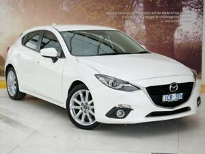 2014 Mazda 3 BM5438 SP25 SKYACTIV-Drive GT White 6 Speed Sports Automatic Hatchback Collingwood Yarra Area Preview