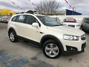 2011 Holden Captiva CG Series II 7 AWD CX White 6 Speed Sports Automatic Wagon Maidstone Maribyrnong Area Preview