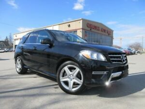 2014 Mercedes-Benz M-Class ML 350 BlueTEC, AMG PACKAGE, NAV, ROO