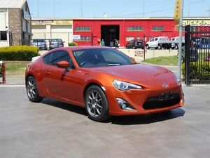 2012 Toyota 86 ZN6 GTS Orange 6 Speed Sequential Auto Coupe Strathpine Pine Rivers Area Preview
