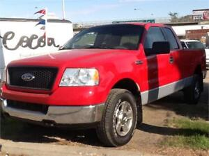 2005 FORD F150 4X4 EXT CAB 253KMS $5500 MIDCITY 1831 SASK AVE