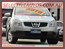 2009 Nissan Dualis J10 MY10 ST (4x4) Silver 6 Speed CVT Auto Sequential Wagon Homebush Strathfield Area Preview
