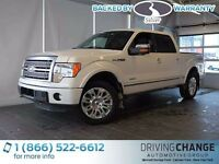 2011 Ford F-150 Platinum-Moon Roof-Nav-Power Running Boards