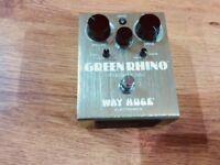 Way Huge Green Rhino Overdrive MkII Guitar Pedal