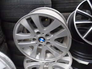 16 INC BMW ALLOY RIMES 5X120 LIKE NEW { RH AUTO }