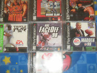 Playstation 1 Games Lot/Tested/Old Skool Gamers