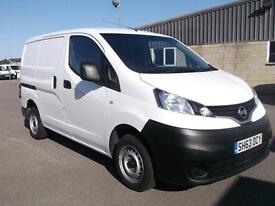 Nissan Nv200 1.5 DCI SE 89 BHP VAN DIESEL MANUAL WHITE (2013)