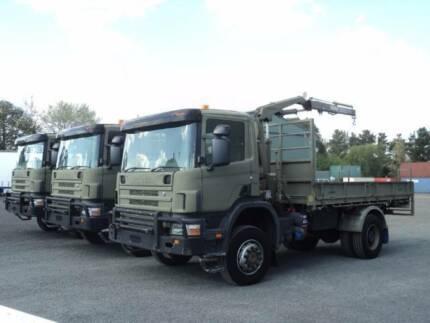 SCANIA 114  4X4 EX DEFENCE LOW 69500 KMS 3 TO CHOOSE FROM