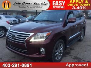 2014 LEXUS LX570 NAVIGATION BACKUP CAMERA DVD'S