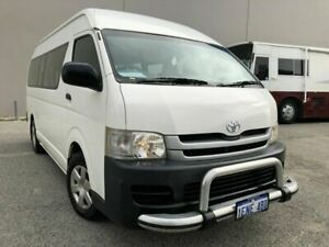 2010 Toyota HiAce KDH223R Commuter White 4 Speed Automatic Van Beckenham Gosnells Area Preview