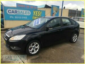 2011 Ford Focus LV MY11 LX Black 4 Speed Automatic Hatchback Kogarah Rockdale Area Preview