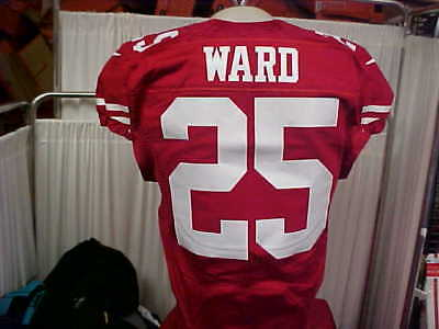 2016 NFL San Francisco 49ers #25 Jimmie Ward Game Worn jersey Red Nike Size 40 segunda mano  Embacar hacia Mexico