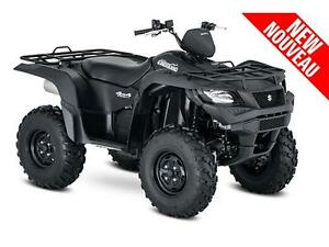 KINGQUAD 750 AXI POWER STEERING MATTE BLACK