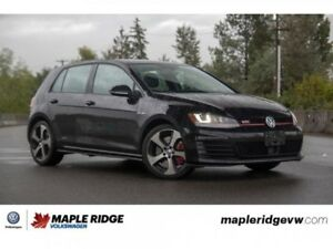 2015 Volkswagen Golf GTI Performance AMAZING VALUE, MANUAL, FULL
