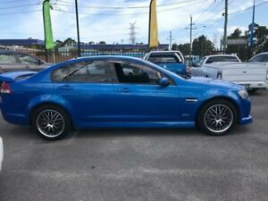 2010 Holden Commodore VE SV6 Blue Sports Automatic Sedan