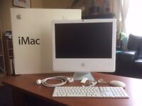 Apple 20-inch iMac Core 2 Duo 2.16 running OSX 7 Lion