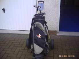 Golf clubs/Bag/Trolley. (St Madoes)