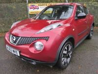Nissan Juke 1.6 N-Tec Auto (force red) 2013