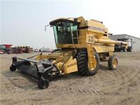1998 New Holland TR98 Twin Rotor Combine