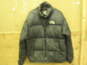 The North Face Nuptse Large Down Jacket, Mens Large Used