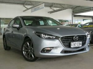 2018 Mazda 3 BN5238 SP25 SKYACTIV-Drive Astina Silver 6 Speed Sports Automatic Sedan Edwardstown Marion Area Preview