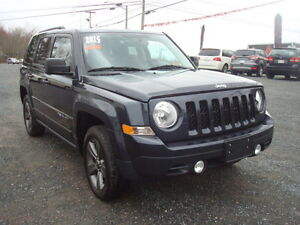 2015 Jeep Patriot HIGH ALTITUDE 4X4 SUV