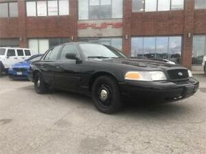 2011 FORD CROWN VICTORIA $60.27 BI-WEEKLY!!EX-POLICE VEHICLE!!