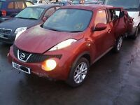Nissan Juke 1.5dci 2012 With 11000miles For Breaking