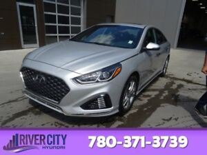 2018 Hyundai Sonata SPORT Heated Seats,  Sunroof,  Back-up Cam,